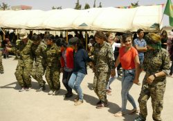5th anniversary of the Revolution in Kobanê