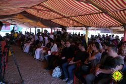 Delegation to the Ezidi youth congress, Şengal